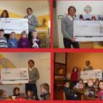 Autohaus Kobia spendet an vier Kindergärten der Region