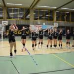 Volleyballerinnen starten mit Derbysieg ins neue Jahr