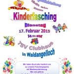 Kinderfasching in Waldangelloch