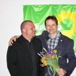 Grüne gehen mit Hermino Katzenstein in den Landtagswahlkampf 2016