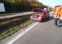 Bilder zum Unfall auf der A6 am Samstag