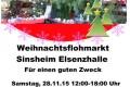 Weihnachtsflohmarkt Elsenzhalle Sinsheim 100% karitativ
