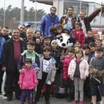 SVS bereitet Flüchtlingen mit Stadionbesuch ein unvergessliches Erlebnis