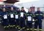 Fünf neue Helfer für die Bergungsgruppen des THW Sinsheim