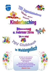 09.02.2016-00 TSV Kinderfasching