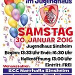 Kinderfasching im Jugendhaus Sinsheim