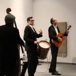 Eine Treibjagd mit 3 Musikern