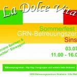 """""""La Dolce Vita"""" im GRN-Betreuungszentrum Sinsheim"""