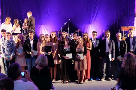 Abschlussfeier der Kraichgau-Realschule 2016