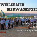 1. Weilermer Bierwagenfest