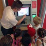 Blick hinter die Kulissen der Sparkasse