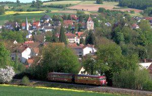 Blick auf Neckarbischofsheim