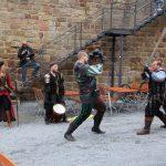 Mittelalterliches Flair beim Burgfest