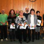 Joachim Bauer verabschiedet acht Mitarbeiterinnen und Mitarbeiter in den verdienten Ruhestand