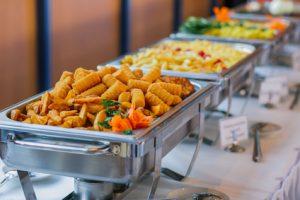 essen hochzeit buffet