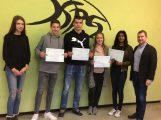 Übergabe der DELF-Diplome an der Kraichgau-Realschule Sinsheim
