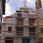 Richtfest des neuen Wohn- und Geschäftsgebäudes in Eschelbach