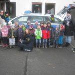 """Die Polizei zu Besuch im Kindergarten """"Apfelbäumchen"""""""