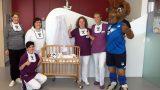 TSG-Lätzchen für Neugeborene in der Sinsheimer GRN-Klinik