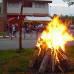 Maifeuer der FFW Reihen