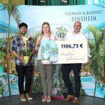 THERMEN & BADEWELT SINSHEIM spendet 1.106,73 EURO an den Kulturförderverein-Kurpfalz e.V.