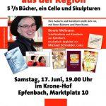 5 7/8 Bücher, ein Cello und Skulpturen
