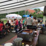 Vatertags-Grillfest des SV Adersbach