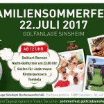 Familien-Sommerfest im Golfclub Sinsheim
