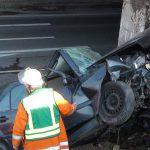 Bilder zum Unfall in Reihen heute morgen