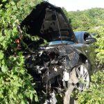 Zwei schwer verletzte Personen bei Verkehrsunfall durch Überholvorgang
