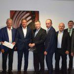 Baugenehmigung für das geplante Klima-Erlebniszentrum in Sinsheim übergeben