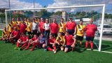 Gemeinsames Trainingsspiel der Stadtverwaltung Sinsheim und der Lebenshilfe