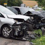 Bilder zum Unfall zwischen Neidenstein und Waibstadt
