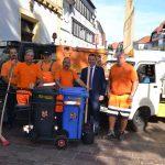 Stadt verstärkt mit neuem Personal die Stadtreinigung