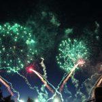 Pyro-Spektakel über Tripsdrill