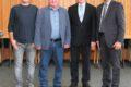 Roland Bauer und Eberhard Pfeil 50 Jahre im öffentlichen Dienst