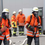 Grosseinsatz der Feuerwehr in Reihen