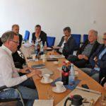 """Fahrrad-Gipfel"" mit dem Landtagsabgeordneten Dr. Albrecht Schütte (CDU)"
