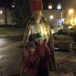 Sankt Martin ritt durch Schnee und Wind..