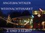 Angelbachtaler Weihnachtsmarkt am 2. und 3.12.2017