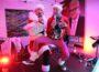 Party-Weihnacht beim Quints