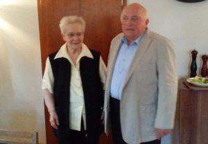 Fritz Bauer und Helene Schubert