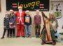 Drehorgel, Weihnachtsmann und Harfenklänge