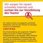 Stellenangebot der BBV Rhein-Neckar – wer suchte eine neue Herausforderung …