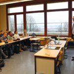 MdL Dr. Schütte im Wilhelmi-Gymnasium Sinsheim