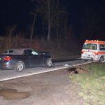 B 292: Verkehrsunfall mit drei verletzten Personen