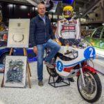 Der zweifache Motorrad-Weltmeister Dieter Braun feiert seinen 75. Geburtstag