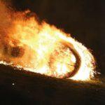 Feuerrad in Dühren
