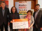 IG Metall Heidelberg übergibt Spende für Kinder in Not