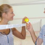 Badminton für Singles